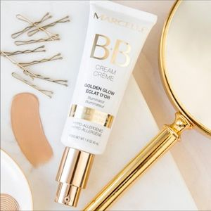 🎁NEW Marcelle travel size BB cream in Golden Glow